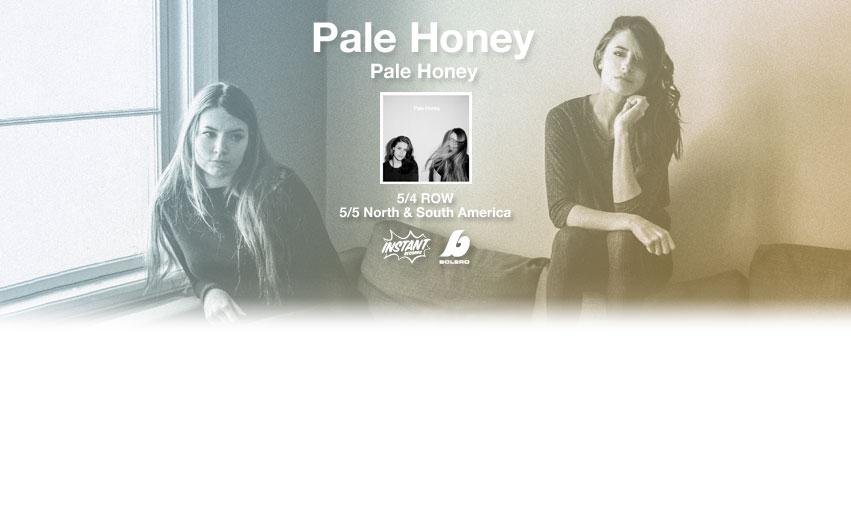 Pale Honey: duo de rock alternativo influenciado por PJ Harvey lança seu primeiro disco