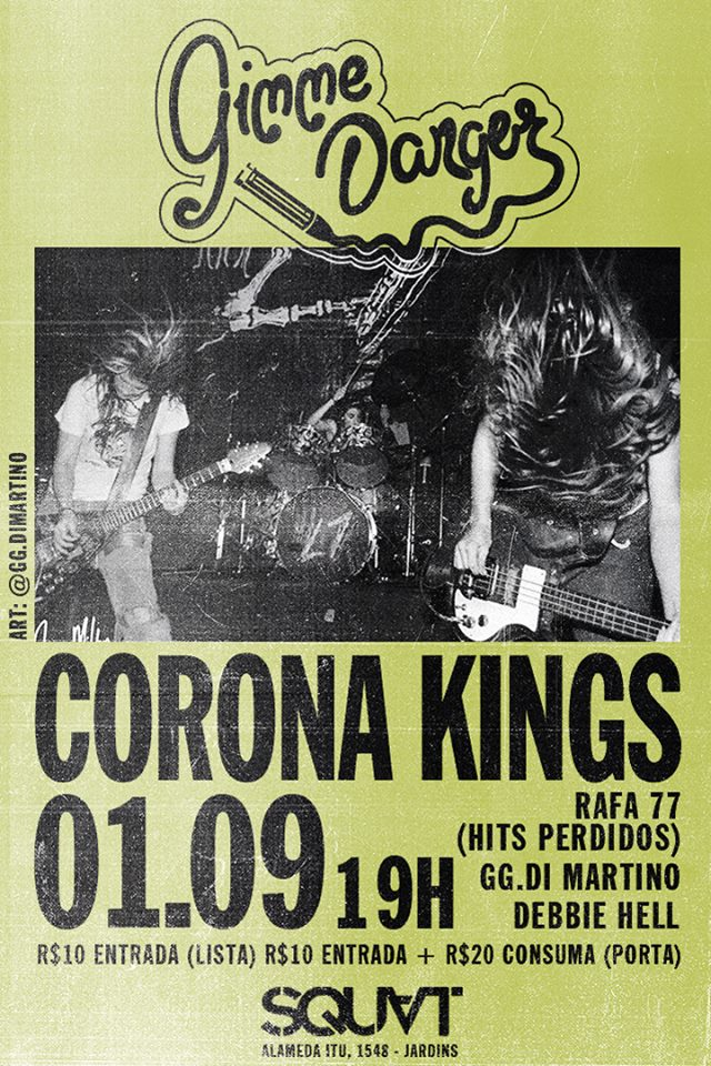 Corona Kings Flyer Hits Perdidos