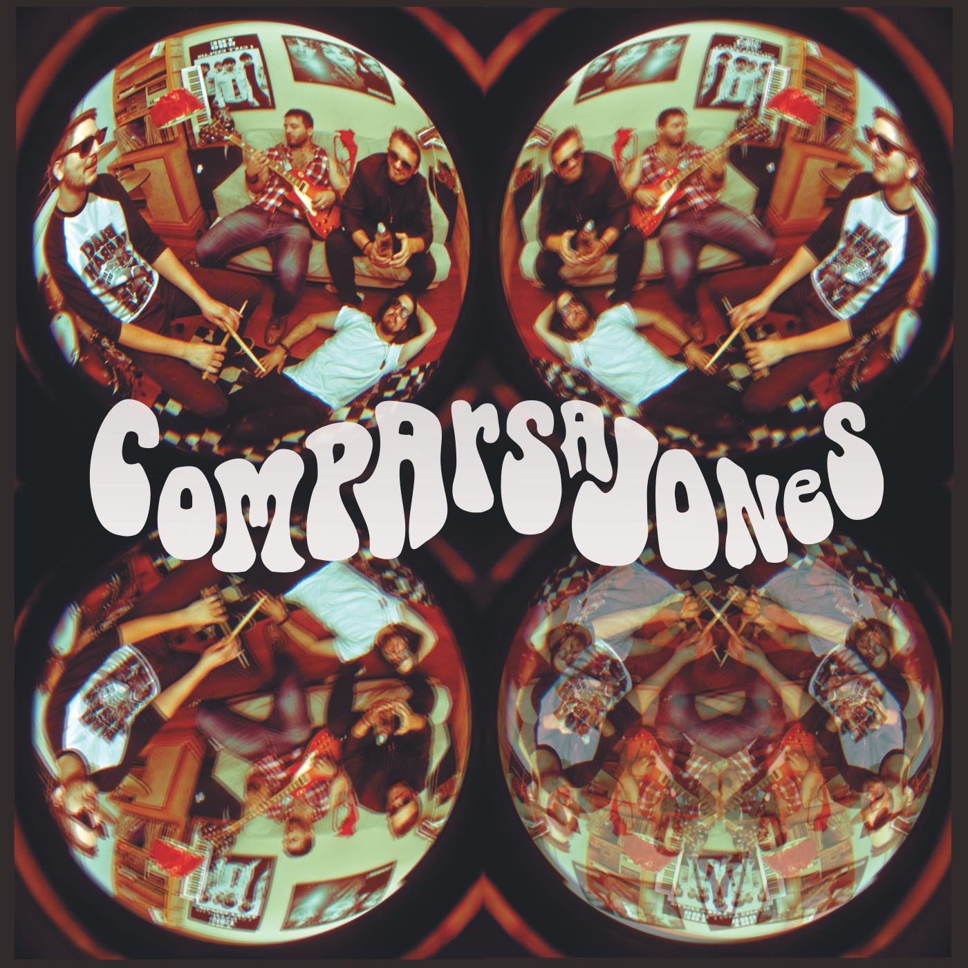 Capa - EP Comparsa Jones