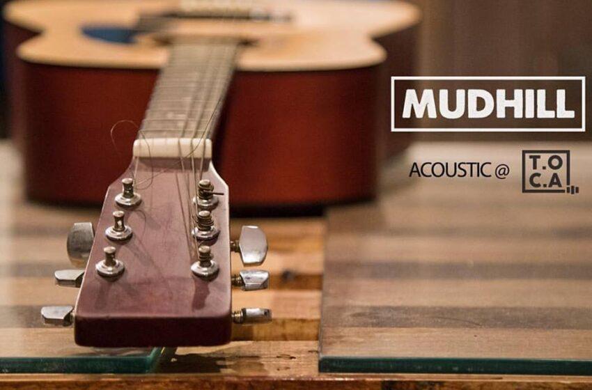 Mudhill grava set acústico especial para o projeto T.O.C.A Sessions
