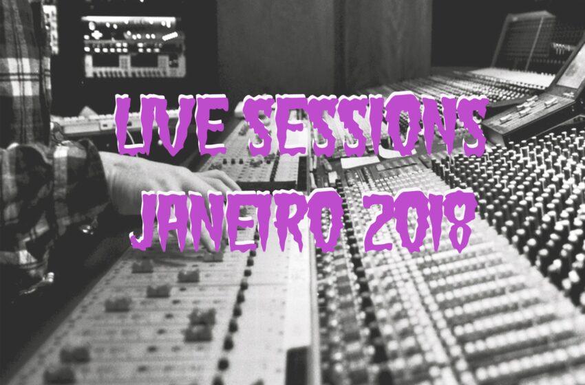5 Live Sessions lançadas em Janeiro (2018)