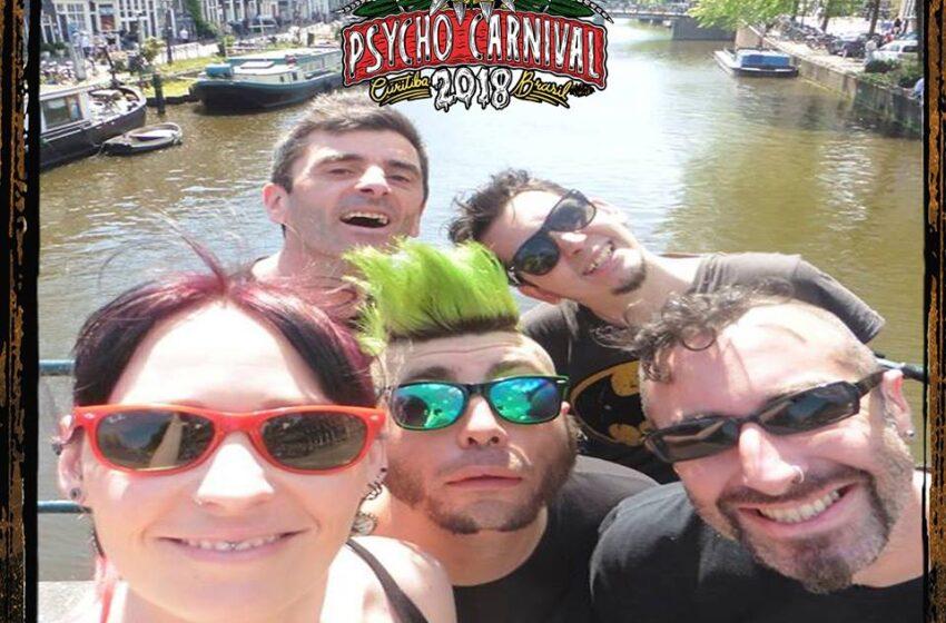 Nausea Bomb (FRA), um dos grandes destaques do Psycho Carnival, vem ao país pela 1ª vez
