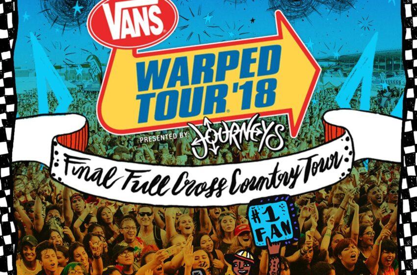 Warped Tour divulga seu último line-up e Tonight Alive lança seu quarto álbum