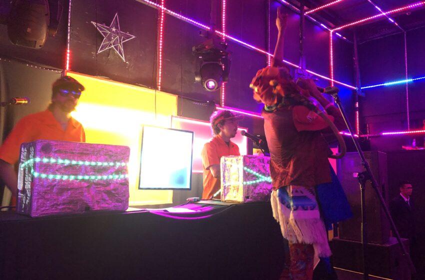 Edgar rouba a cena na primeira edição do festival No Ar Coquetel Molotov em SP