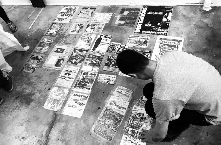Exposição organizada por Alexandre Sesper (Garage Fuzz) resgata o espírito D.I.Y. do punk brasileiro