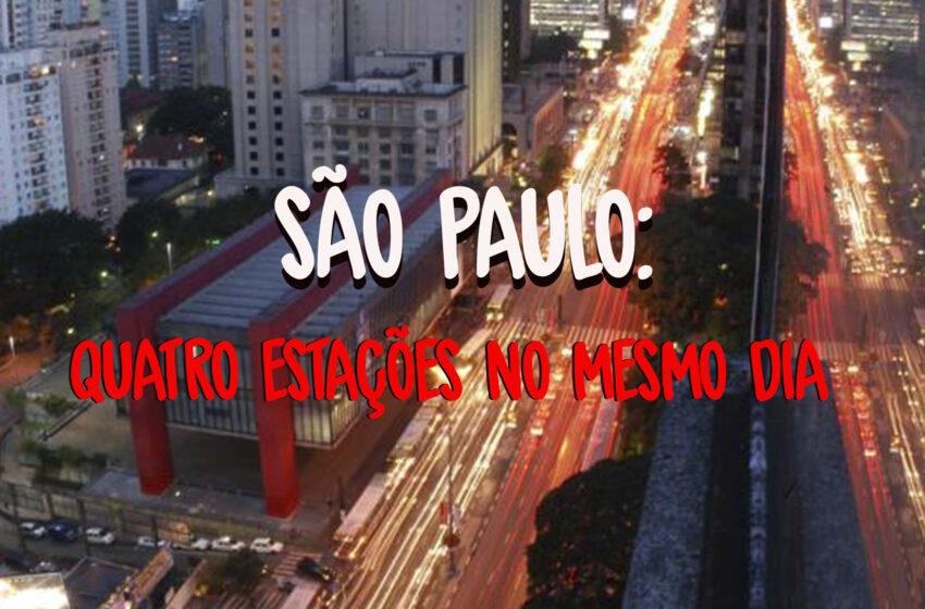 Em playlist, Pena Schmidt seleciona sons que se parecem com São Paulo