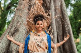 A pernambucana Doralyce lançou recentemente um EP intenso e bastante atual. – Foto Por: Beatriz Salgado