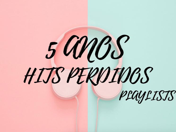 Hits Perdidos disponibiliza playlists para comemorar seus 5 anos