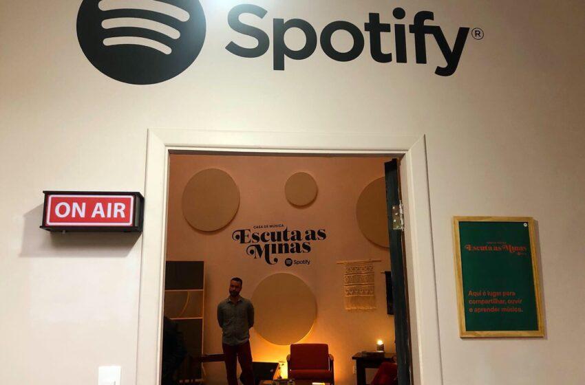 Chegou a hora! Spotify abre as inscrições para Casa de Música Escuta as Minas