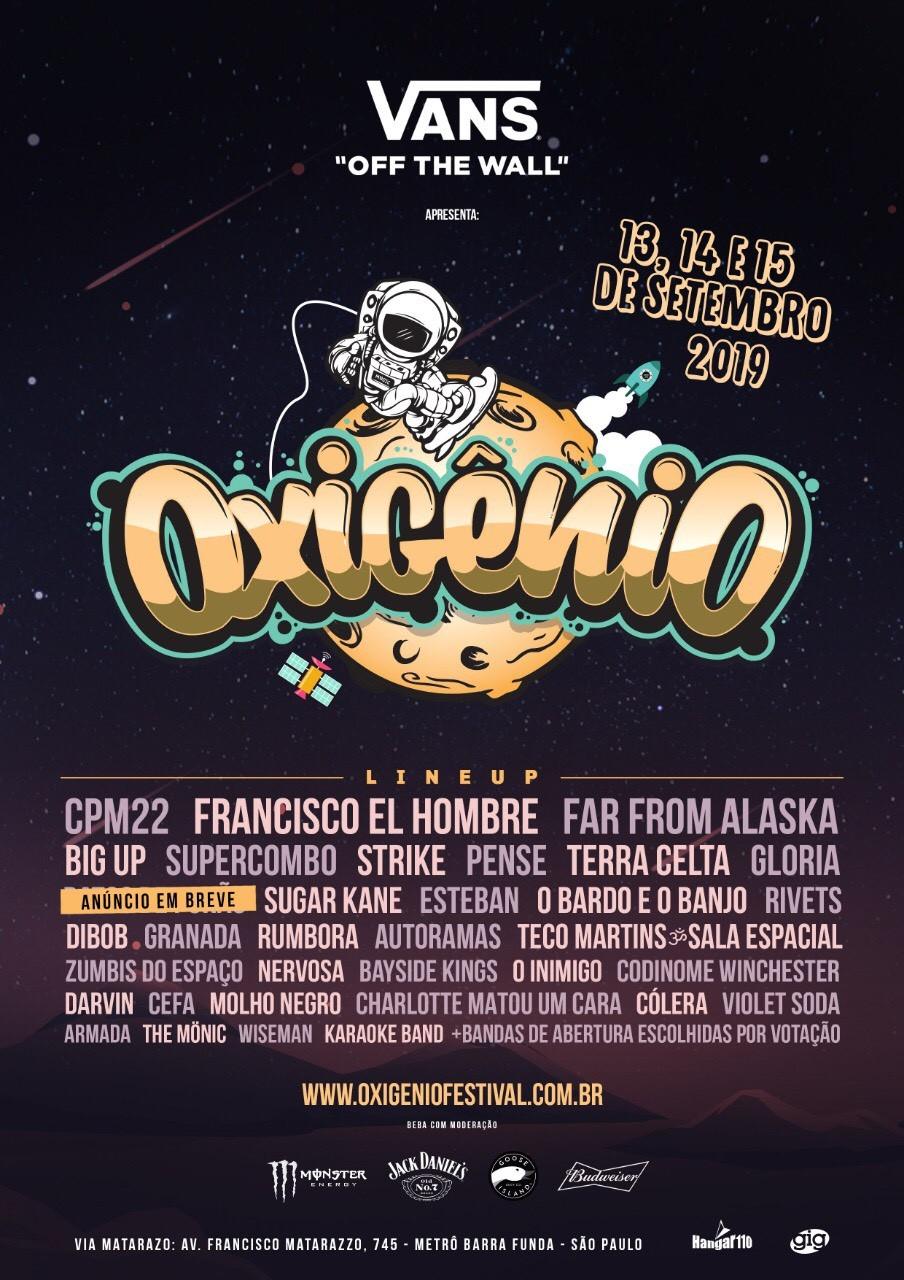 Oxigênio Festival - Poster