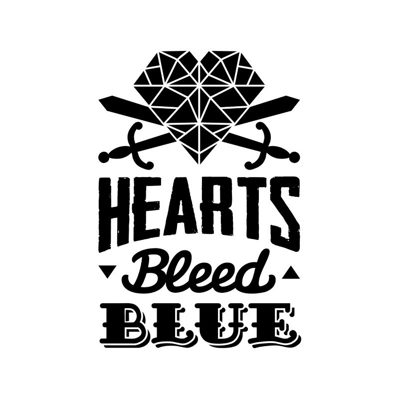 Hearts Bleed Blue Selos independentes brasileiros