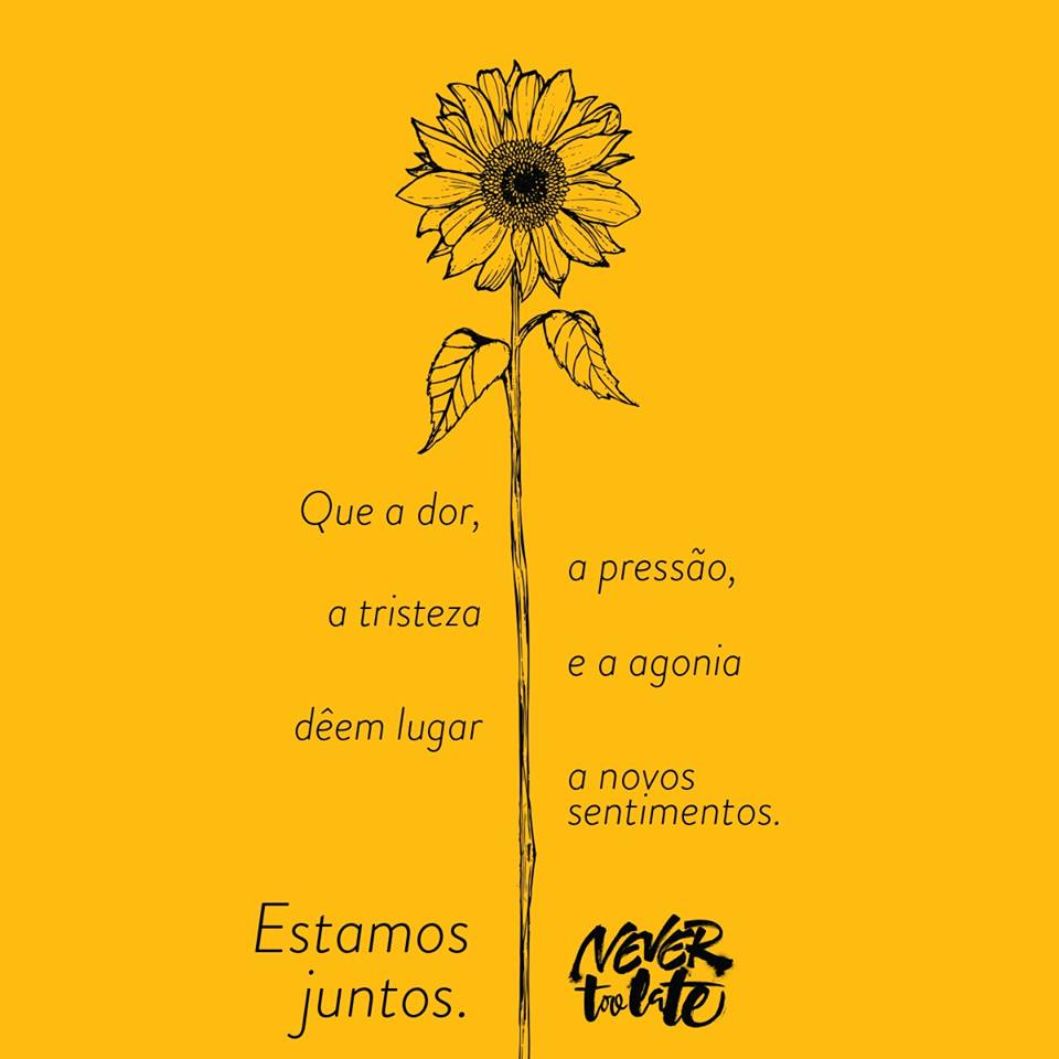 Setembro Amarelo Never Too Late