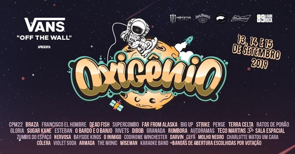 Oxigênio Festival Line Up