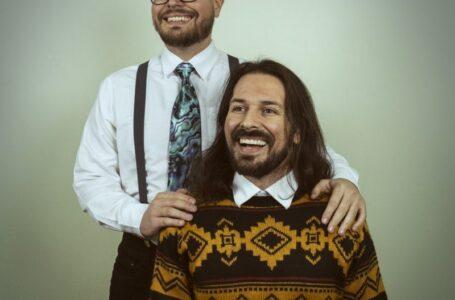 Helder e Jaison, a dupla dinâmica do RockALT – Foto: Auto retrato por Jaison Sampedro