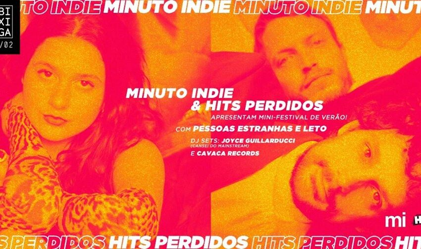 Hits Perdidos e Minuto Indie apresentam  mini-festival de Verão