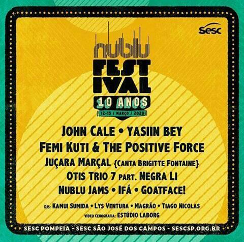 Nublu Jazz Festival 2020