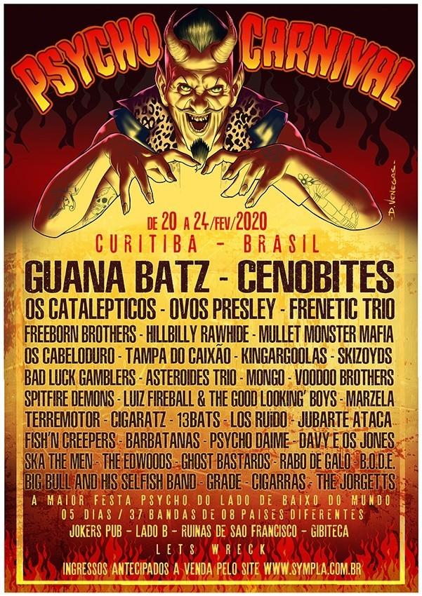Festivais Psycho Carnival 2020