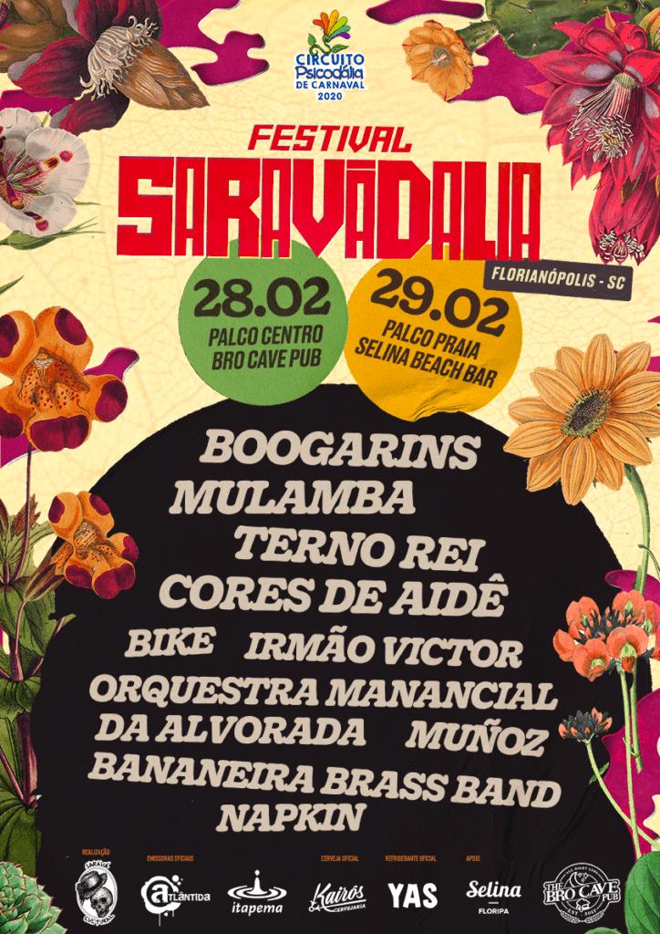 Festivais Brasileiros - Festival Saravadália