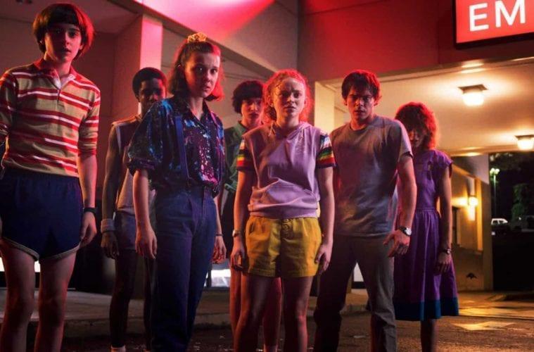 Stranger Things Series Netflix 2020