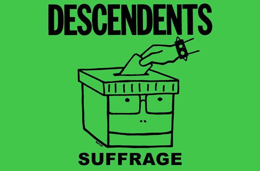 "Inflado pelas eleições americanas, Descendents lança ""Suffrage"""