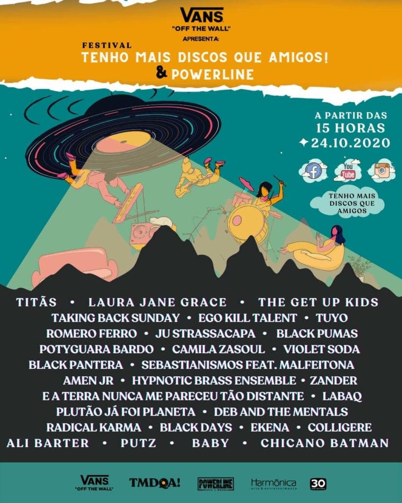 Festival TMDQA! Cartaz 2020