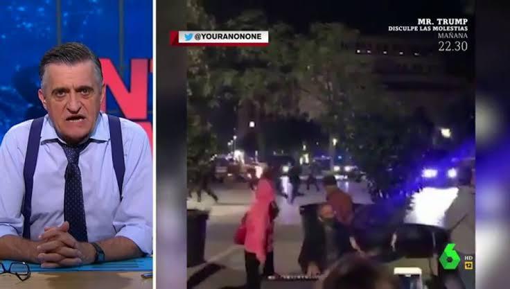 Vídeo de pianista tocando clássico do The Bangles durante protestos na Espanha viraliza nas redes sociais