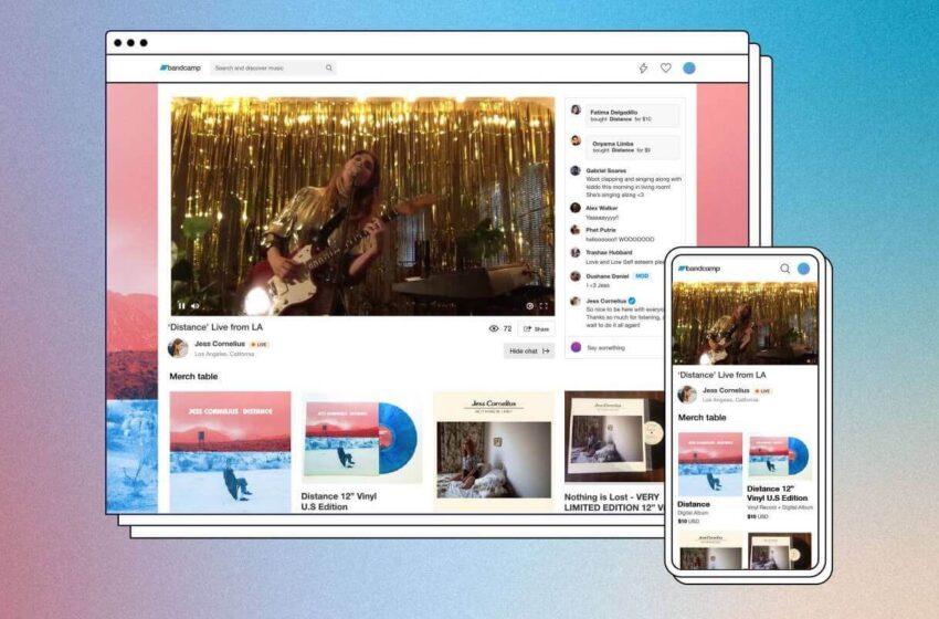 Bandcamp Live: nova plataforma de lives para artistas
