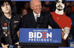 Eleições Americanas 2020 Biden Foo Fighters Green Day