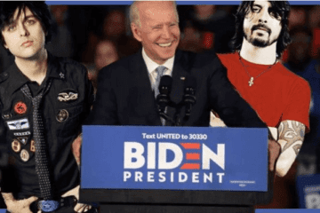 Eleições Americanas 2020 Biden Foo Fighters Green Day