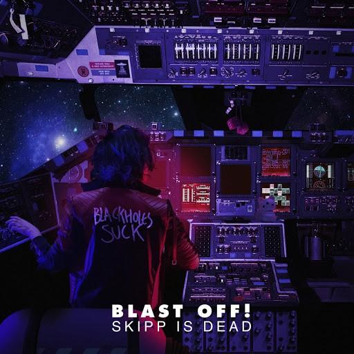 As 50 melhores capas de discos de 2020 - Skipp Is Dead -Blast Off!