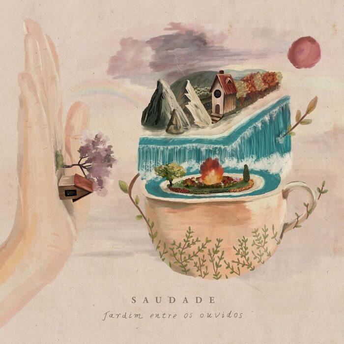 As 50 melhores capas de discos de 2020 - saudade -Jardim Entre Os Ouvidos