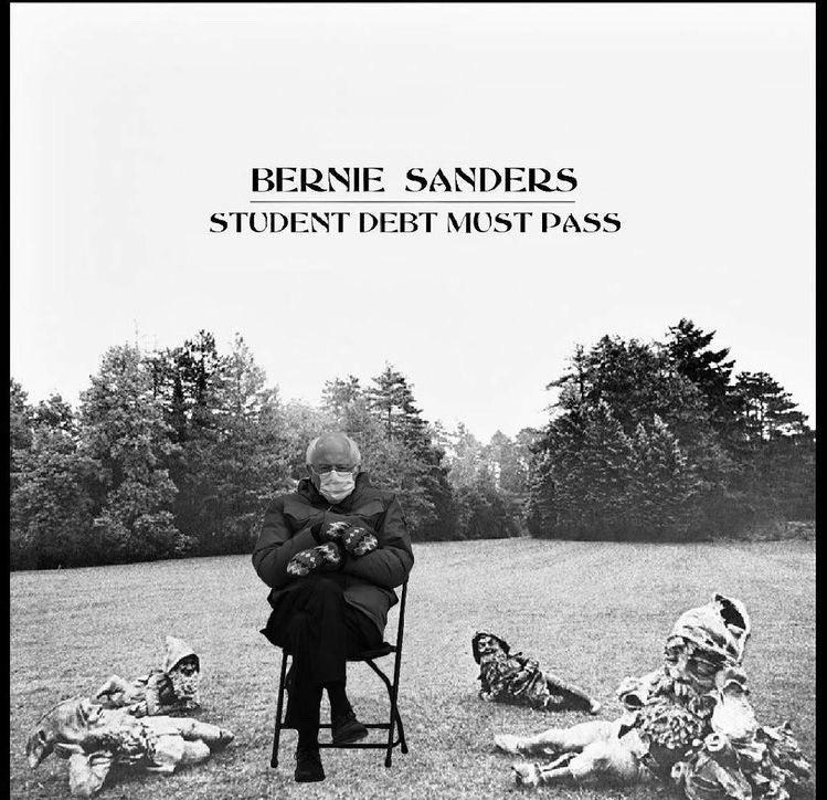 Bernie Sanders - George Harrison All Things Must Pass