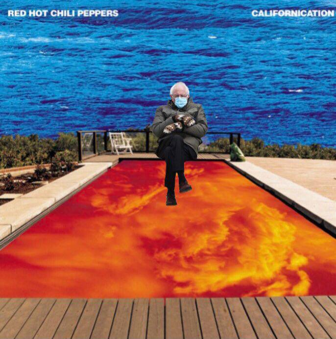 Bernie Sanders - Red Hot Chilli Peppers Californication