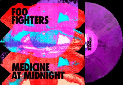 Foo Fighters Medicine At Midnight Album Cover 2021