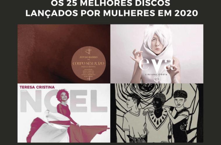 Os 25 melhores discos lançados por mulheres em 2020 no Brasil
