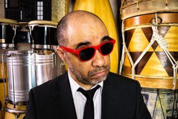 O músico Ivan Silva (Ivan Batucada)