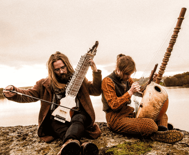 sturle dagsland making music with partner in Norway