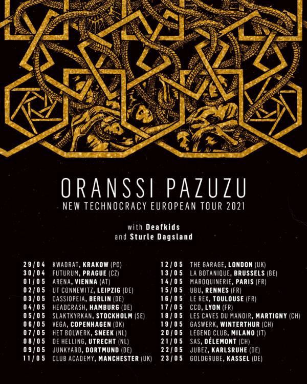 sturle dagsland (noruega) -oranssi-deafkids-poster-tour