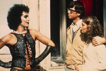 Cena do filme musical The Rocky Horror Picture Show