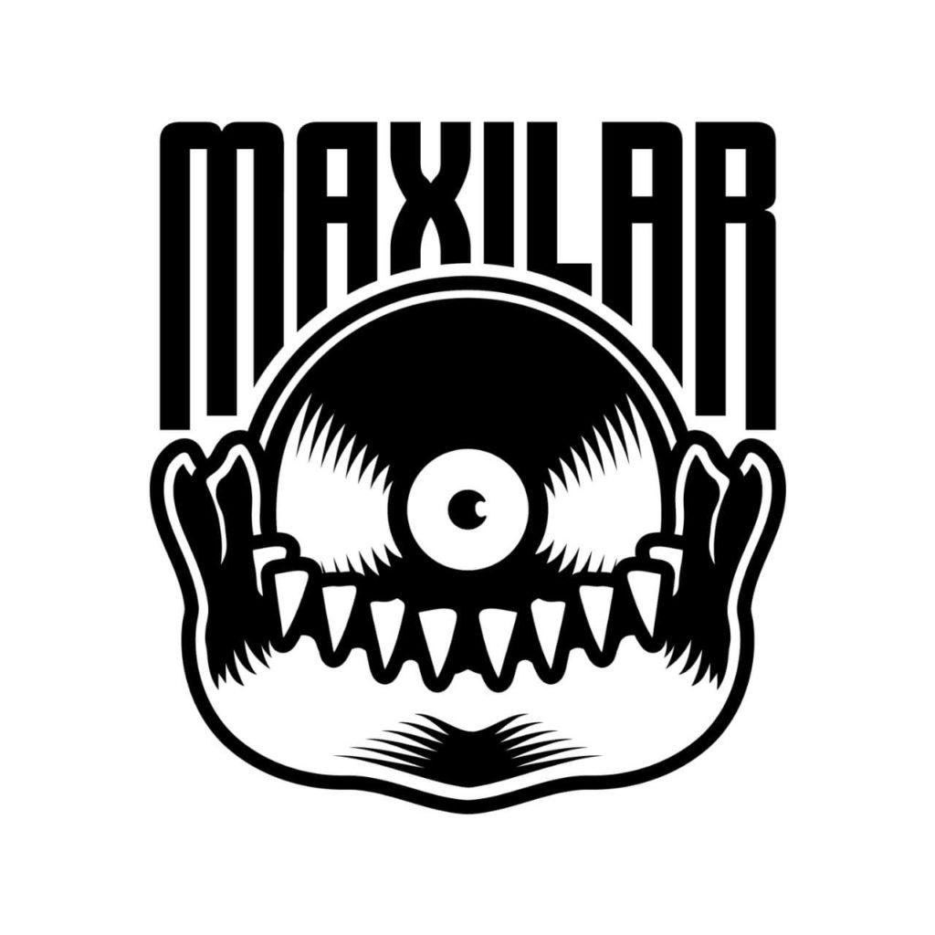 Maxilar - logo do selo independente de Gabriel Thomaz