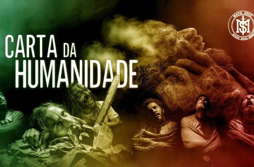 """Mato Seco lança """"Carta da Humanidade"""" no Dia Nacional do Reggae"""