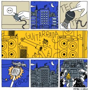 O Griolo HQ Quadrinhos álbum não sabe de nada