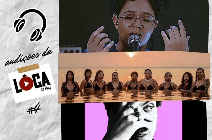 Audições da Lôca #4 com Kaboom23, Larissa Lisboa, Afrocidade, Botika, Tuini, Brunê, Natalia Mess e Suraras do Tapajós