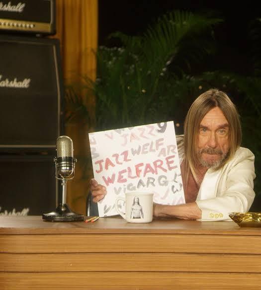 Viagra Boys Welfare Jazz Iggy Pop Holding Album