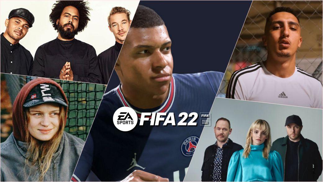 Trilha Sonora do FIFA 22 reúne 122 músicas